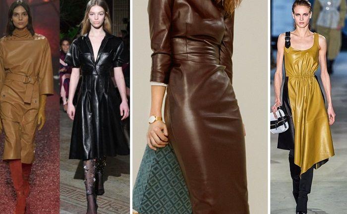 осенние платья для женщин