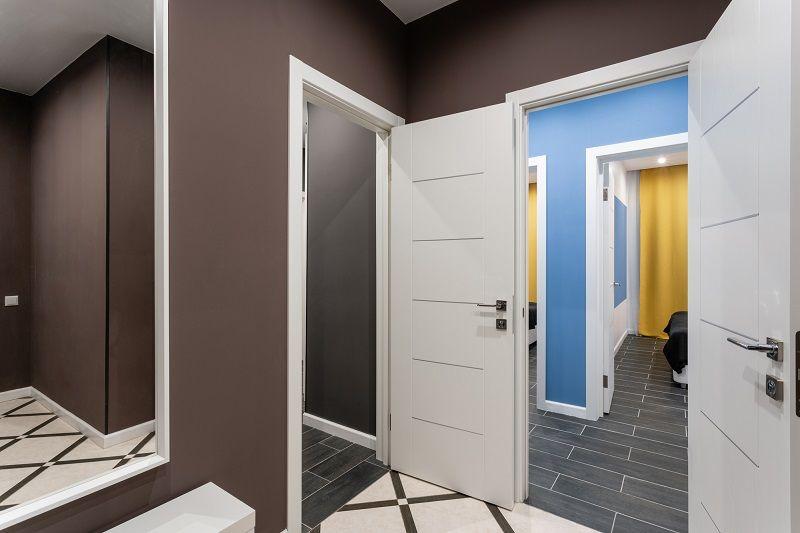 правила установки межкомнатных дверей