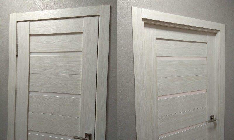 монтаж межкомнатных дверей в гипсокартон