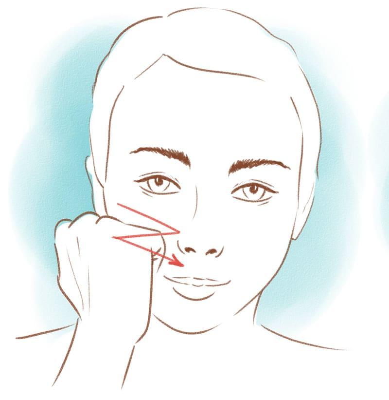 массаж для лица для упругости кожи