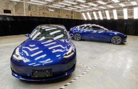 ВКитае начала работать Tesla Gigafactory 3