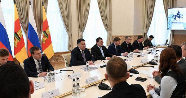 Французская компания планирует принять участие вреализации крупного инвестпроекта вТверской области