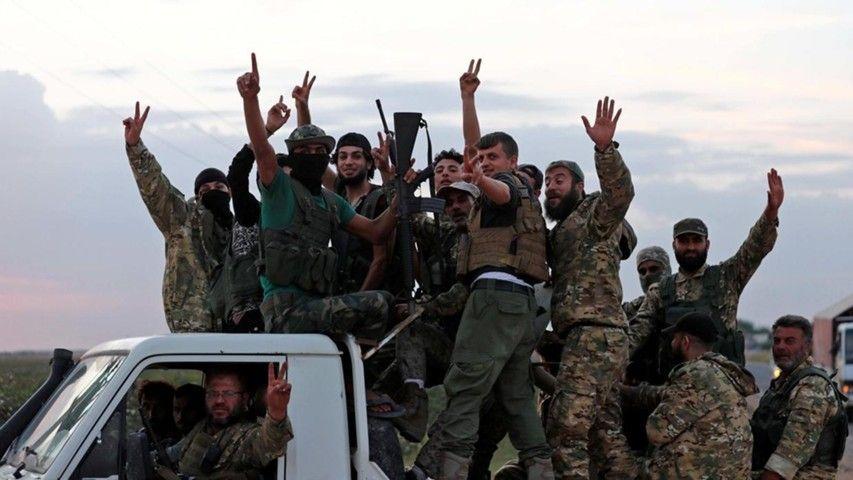 США — спонсор турецкого вторжения в Сирию