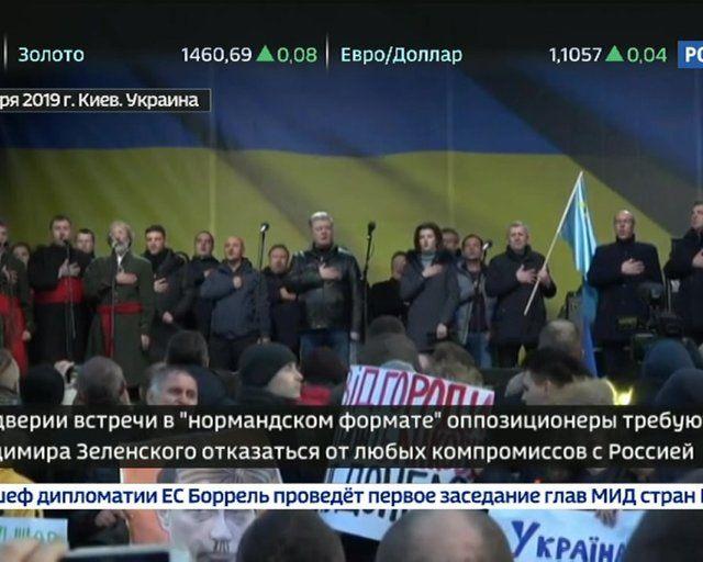 Яйца как снаряд: Порошенко освистали на словах «Слава Украине!»