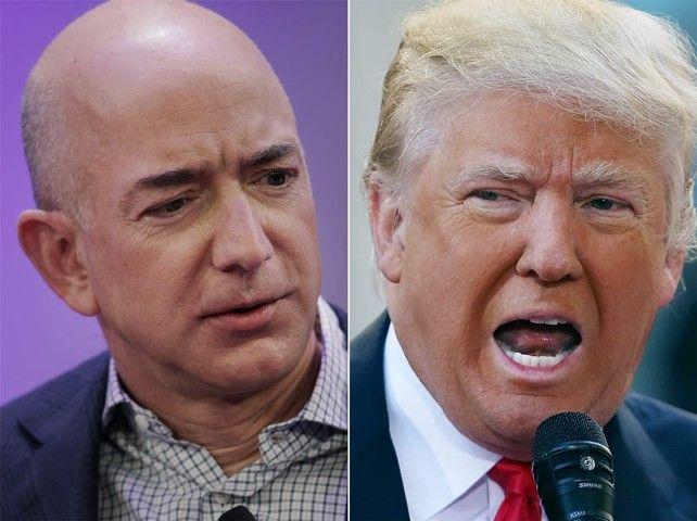 Amazon винит Трампа в проигрыше тендера Пентагона на $10 млрд
