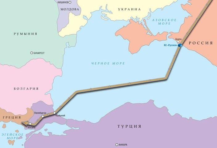 Венгрия хочет подключиться к газопроводу «Турецкий поток»
