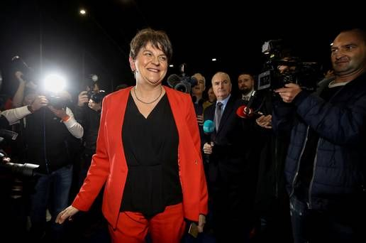 DUP insists no plans to ditch Arlene Foster as MP Donaldson fails to back her