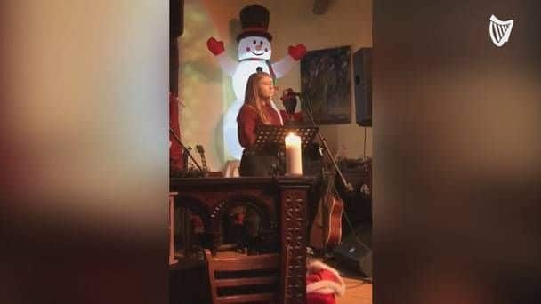 This Kerry student's soul-stirring performance of 'O Holy Night' is sure to make you festive