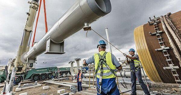 Nord Stream 2запросила уГермании разрешение напрокладку труб