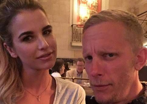 'I don't want to be dragged into something like that', says Vogue Williams on Laurence Fox romance rumours