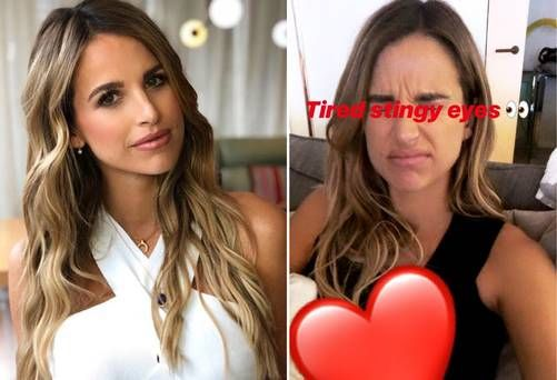 'Let's not start the parent shaming already, he's eight days old' — Vogue Williams hits back at critics after photoshoot one week after birth