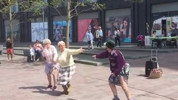 WATCH: Hilarious dancing grannies perform Riverdance