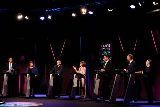 Head-to-head: How did the seven party leaders fare in RTÉ's election debate