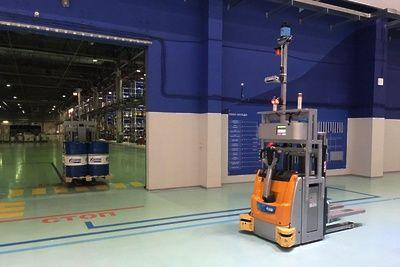 Роботы начали обслуживать логистический центр МНПЗ