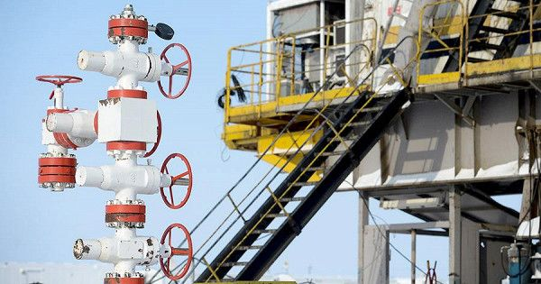 Добыча газа вРоссии вмарте снизилась на12,1%, вIквартале— на6%